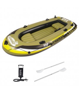 Inflatable Boat Jilong Fishman 350 SET, 305x136x42 cm, 340 kg, 3+1 Person