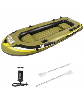 Jilong Inflatable Boat Fishman 400 SET, 340x142x48 cm, 380 kg, 4 Person