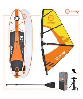Zray SUP komplet W2 Windsurfing 10'6'' + jadro + veslo + tlačilka + nahrbtnik