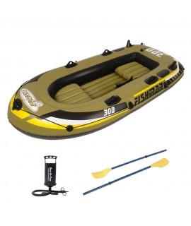 Jilong napihljiv čoln Fishman 300 SET, 252x125x40 cm, 265 kg, 2+1 oseb
