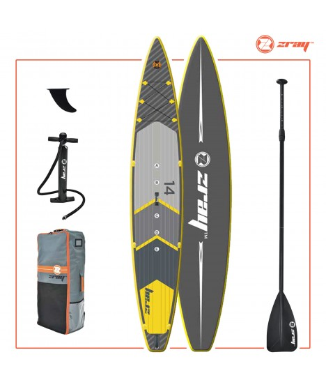 Zray SUP Pack R2 Racing 14' + Paddle + Pump + Backpack