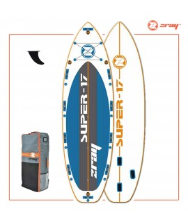 Zray SUP komplet S17 SUPER 17' + veslo + tlačilka + nahrbtnik