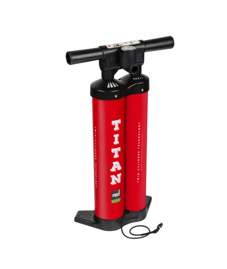 Red Paddle Co SUP Pump Titan, Double-Action, 20 PSI