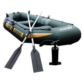 Jilong napihljiv čoln Fishman II 400, 295x128x43 cm, 320 kg, 3+1 osebe