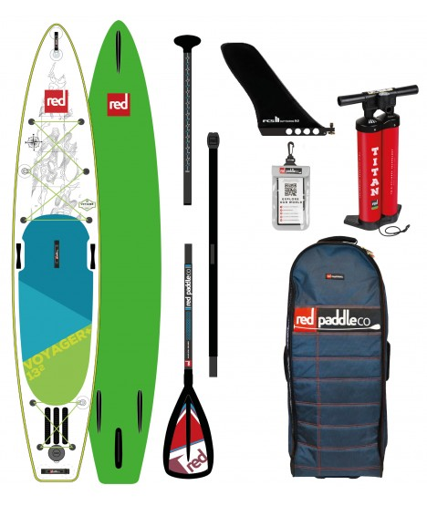 Red Paddle Co SUP 13'2'' Voyager+