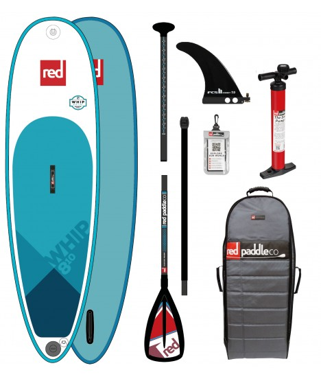 Red Paddle Co SUP 8'10'' Whip MSL + Paddle