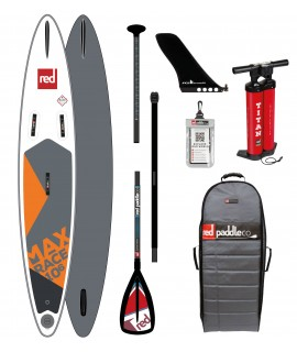 Red Paddle Co SUP 10'6'' x 24'' Max Race MSL + Paddle