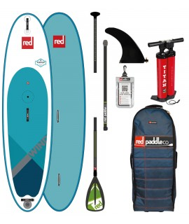 Red Paddle Co SUP 10'7'' Ride MSL WindSUP + Paddle
