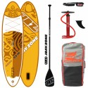 JBay.Zone SUP Pack 9.9 H1 Honu + Paddle + Pump + Backpack + Leash