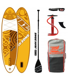 JBay.Zone SUP Pack H1 Honu 9'9'' + Paddle + Pump + Backpack + Leash