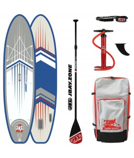 JBay.Zone SUP Pack 10.6 J2 Comet + Paddle + Pump + Backpack + Leash