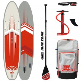 JBay.Zone SUP Pack 11.6 J3 Comet + Paddle + Pump + Backpack + Leash