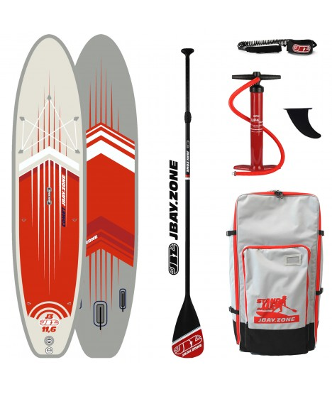 JBay.Zone SUP Pack J3 Comet 11'6'' + Paddle + Pump + Backpack + Leash