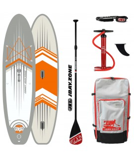 JBay.Zone SUP Pack 10.6 WJ2 Comet WindSUP + Paddle + Pump + Backpack + Leash