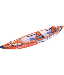 Zray Inflatable Kayak Drift Drop-Stitch, 426x81 cm, 220 kg, 2 osebi