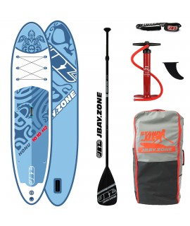 JBay.Zone SUP Pack H2 Honu 10'10'' + Paddle + Pump + Backpack + Leash