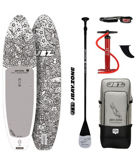 JBay.Zone SUP Pack 10.6 FRA! Limited Edition + Paddle + Pump + Backpack + Leash