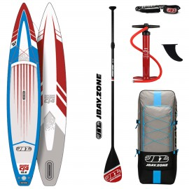 JBay.Zone SUP Pack 12.6 Cj4 Rush + Paddle + Pump + Backpack + Leash