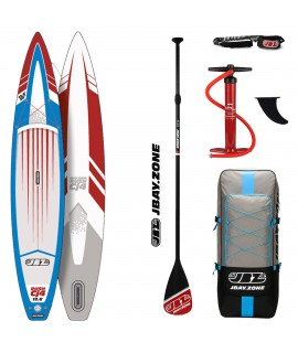 JBay.Zone SUP kit 12.6 Cj4 Rush + veslo + pumpa + ruksak + kabel
