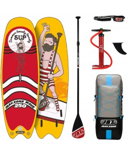 JBay.Zone SUP Pack 8.2 Y2 Wave + Paddle + Pump + Backpack + Leash