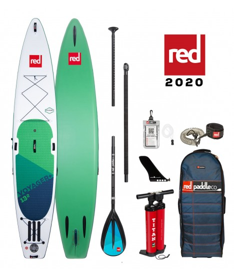 Red Paddle Co SUP 13'2″ Voyager+ MSL + Paddle