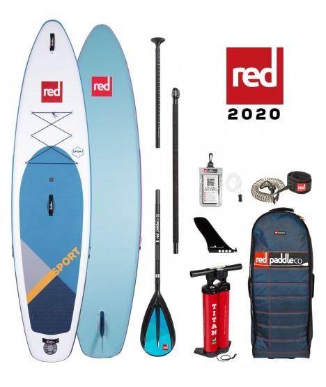 Red Paddle Co SUP 11'3″ Sport MSL + veslo