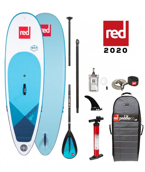 "Red Paddle Co SUP 8'10"" Whip MSL + Paddle"