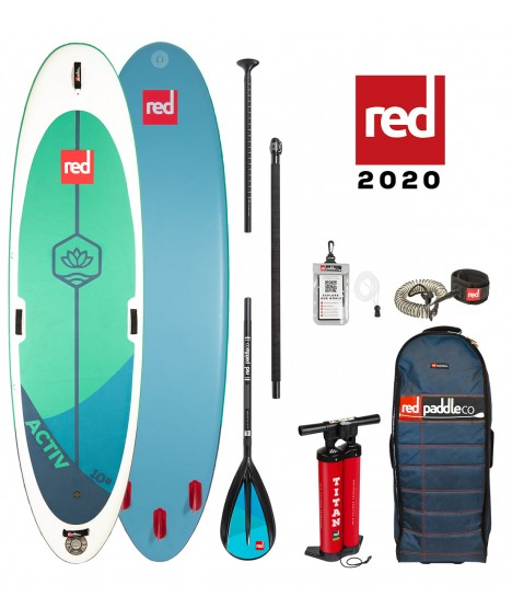 Red Paddle Co SUP 10'8″ Activ MSL + Paddle
