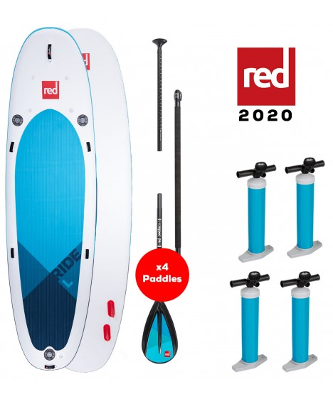 Red Paddle Co SUP 14' Ride L MSL + veslo
